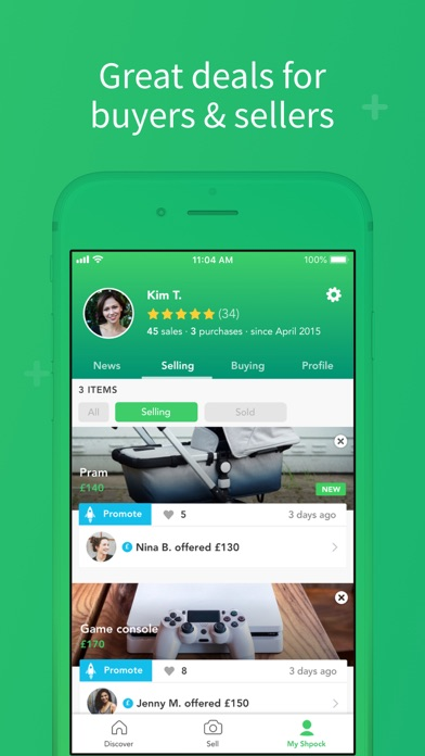 Shpock: Sell, Buy, Classifieds Screenshot