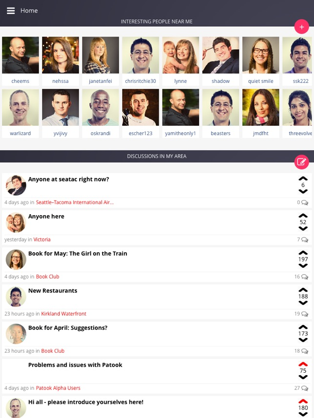 Patook- make platonic friends on the App Store