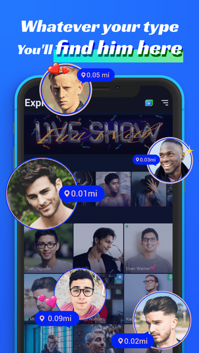 Blued- LIVE Gay Chat & Dating