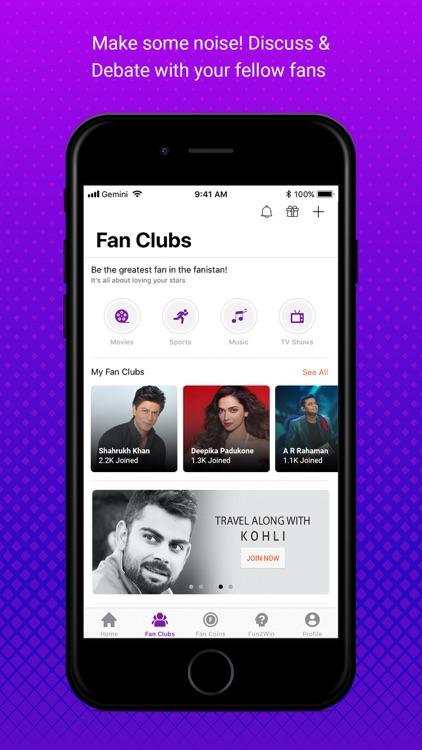 FanKick -Celebs,Fans & Rewards screenshot-3