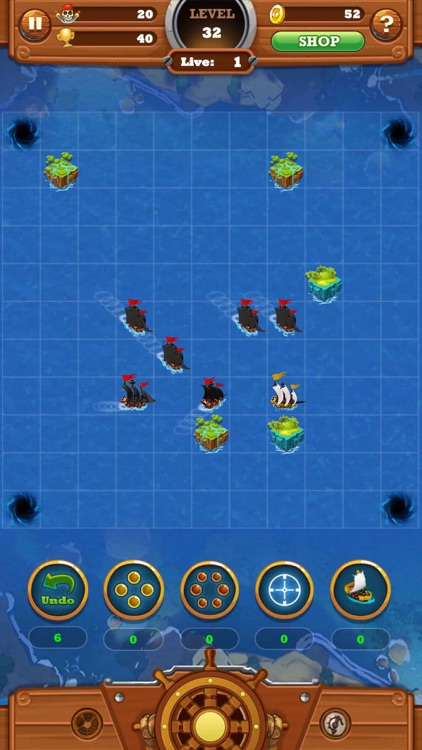 Seven Ships Battle: Pirate Sea screenshot-4