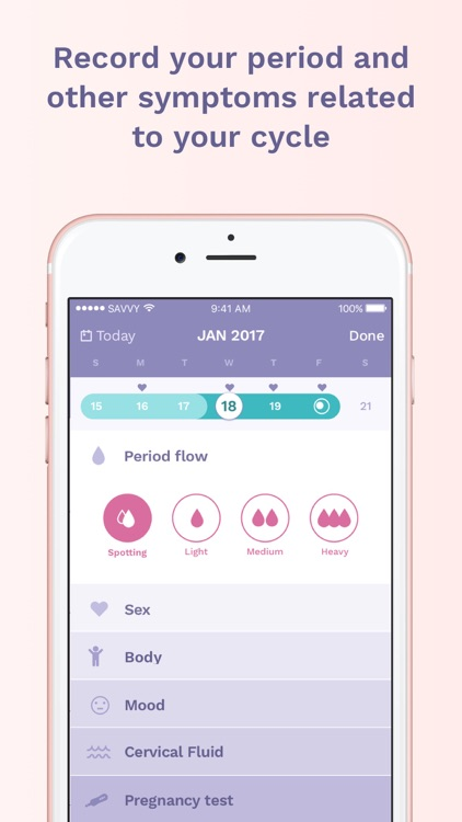 Ava fertility tracker screenshot-3