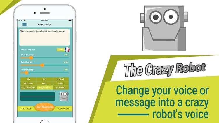 Robo Voice screenshot-6