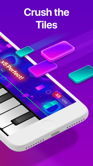 Piano Crush - Keyboard Games app image
