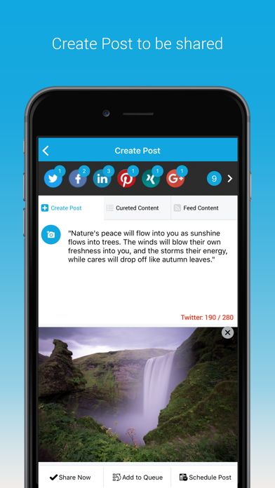 SocialPilot: Social Media Tool screenshot four