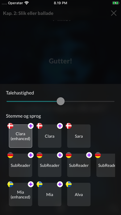Screenshot for SubReader in Estonia App Store