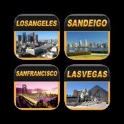 USA West Offline Map Travel Bundle