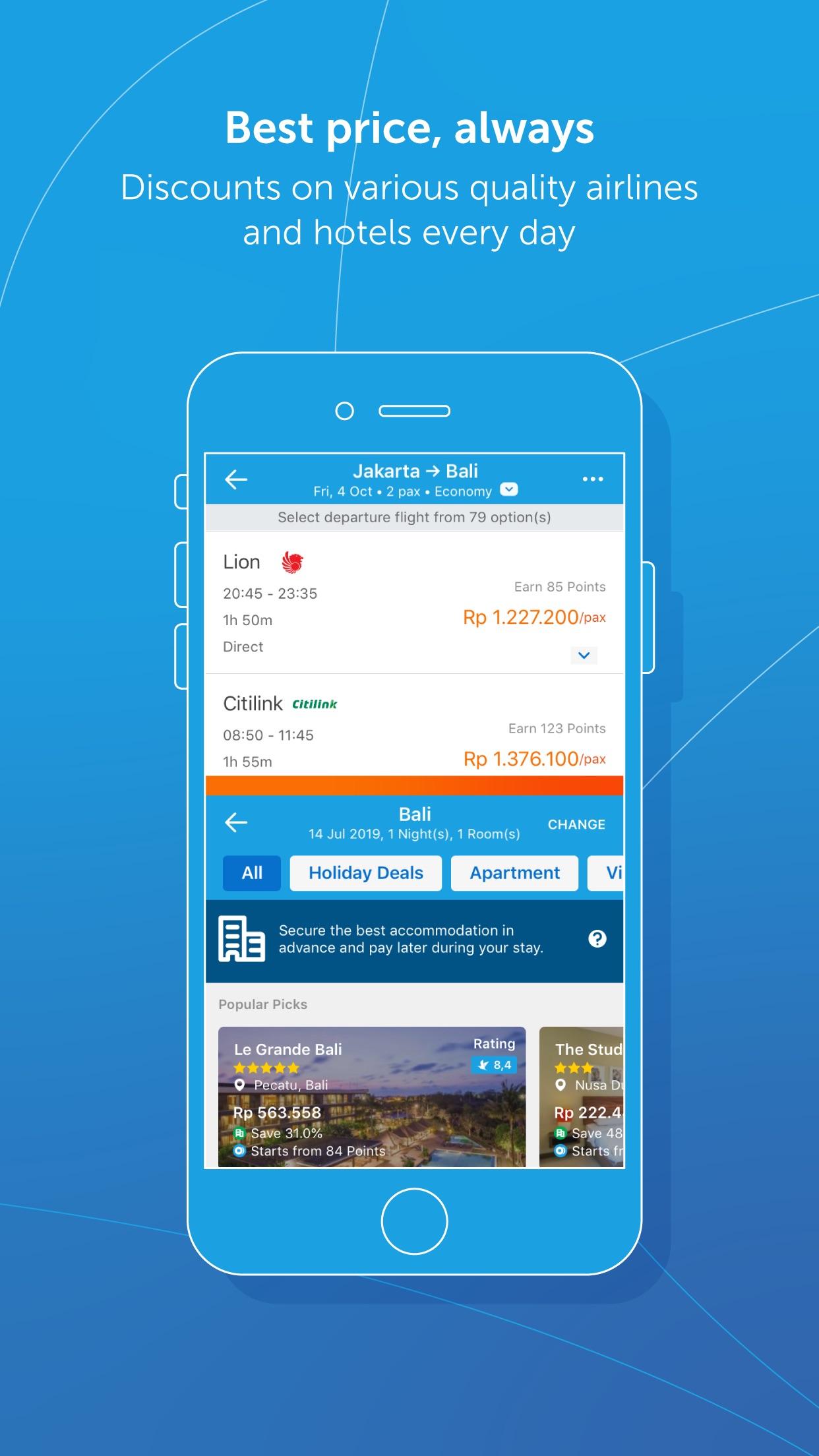 Traveloka: Flight, Hotel, Trip Screenshot
