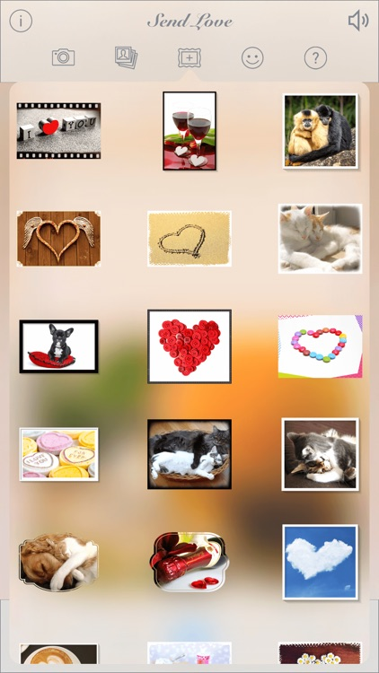 Send Love • Greeting cards