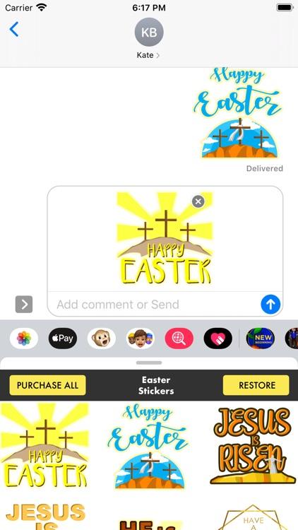 Easter Stickers - Christian screenshot-4