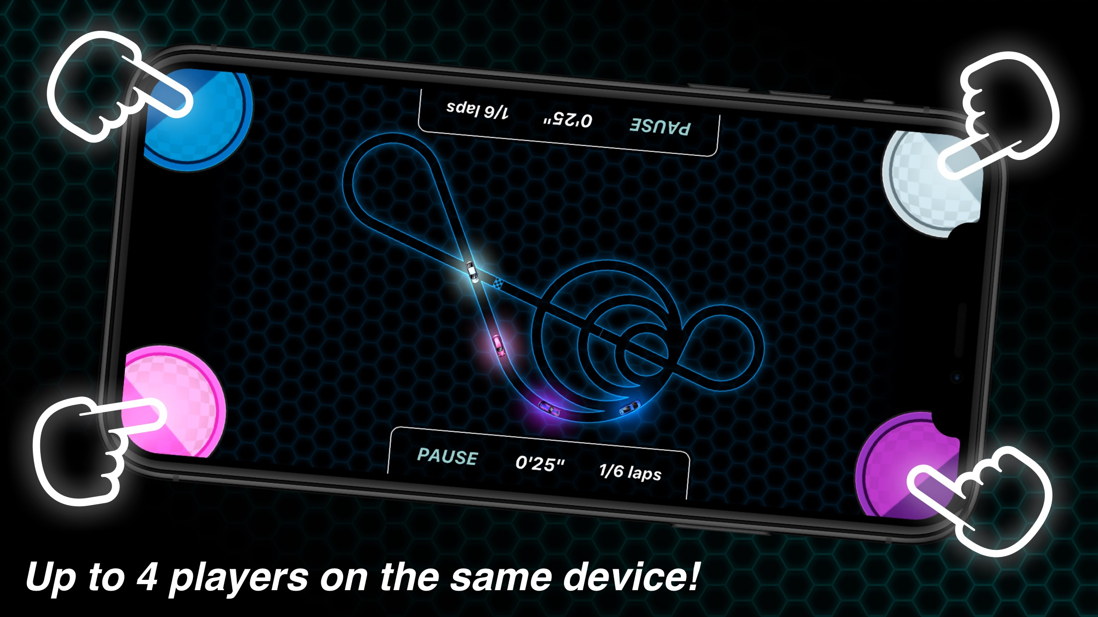 Screenshot do app Vector Race