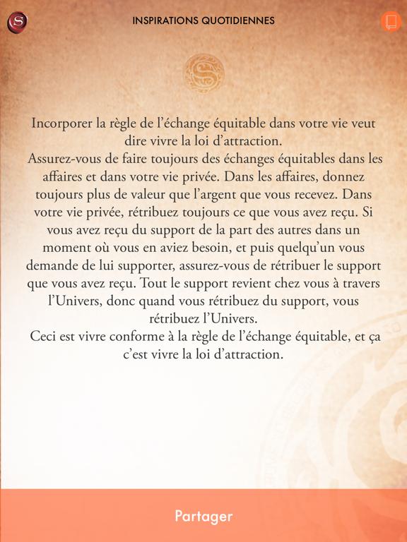 Screenshot #6 pour Le Secret de l'Argent