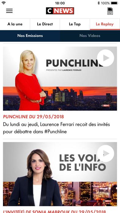 CNEWS info Tv France et Mondeのおすすめ画像4