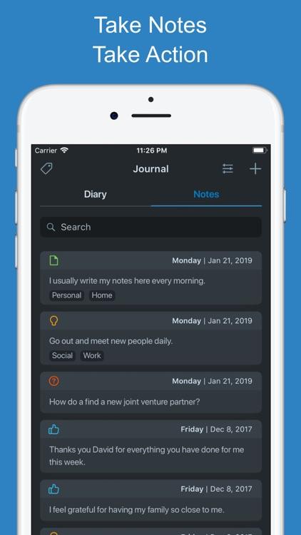 Goal Setting Tracker Planner screenshot-9