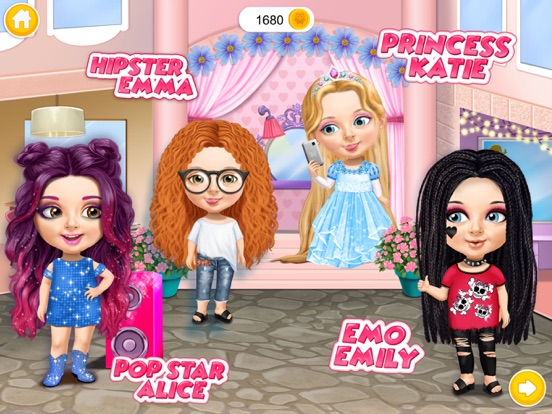 Sweet Baby Girl Beauty Salon 3 на iPad