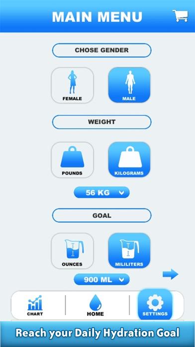 Daily Water Reminder & CounterScreenshot of 1