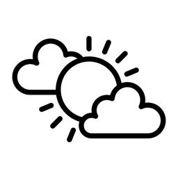 Minimalist Weather Forecast