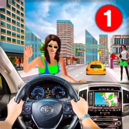 US Taxi Simulator & Car Drive
