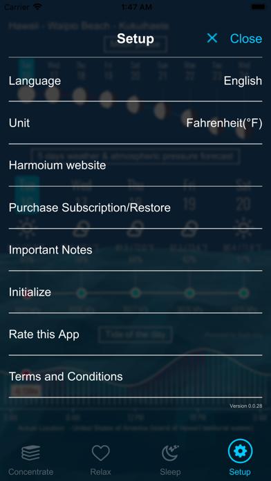 Harmonium - KlangtherapieScreenshot von 9