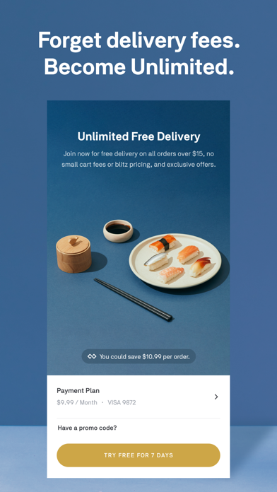 Screenshot for Postmates - Food Delivery in Singapore App Store