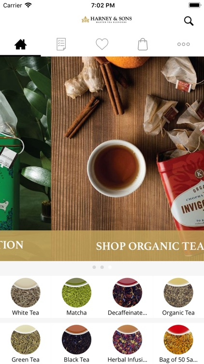 Harney & Sons Fine Teas screenshot-0