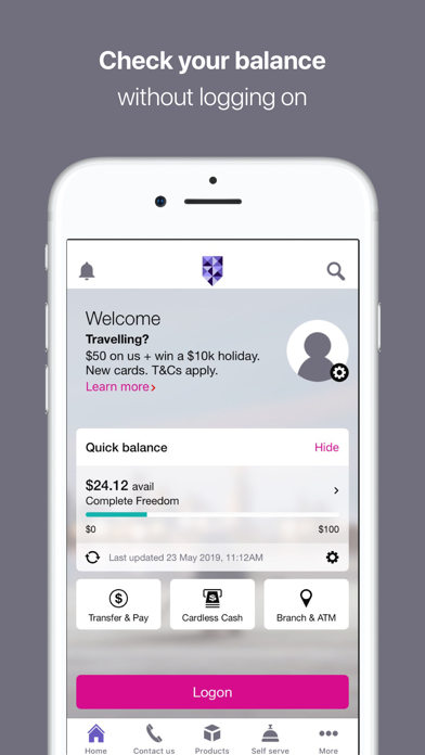 Bank of Melbourne Banking by St George Bank Limited (iOS, United