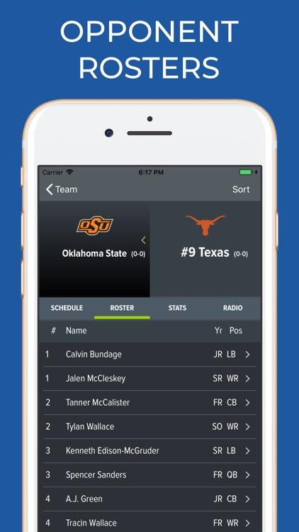 UT Texas Football screenshot-7