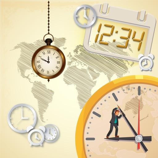 World Clock Digital - Widget