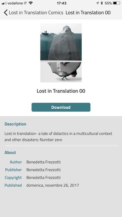 Lost in Translation Comics