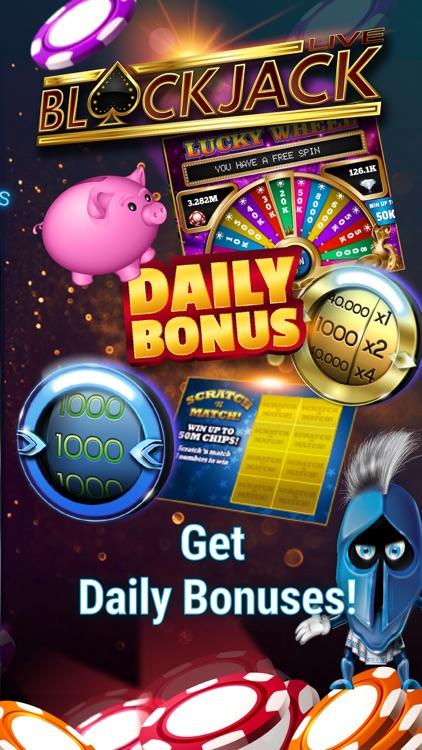 Blackjack 21: Live Casino game screenshot-4