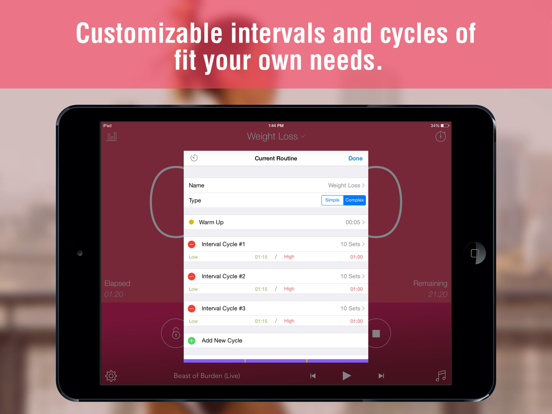 Interval Timer - Timing for HIIT Training and Workouts screenshot