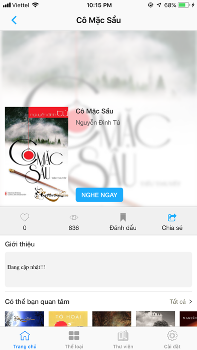 Sách nói - Audio books online screenshot four
