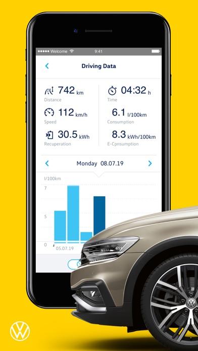 Volkswagen We Connect screenshot four