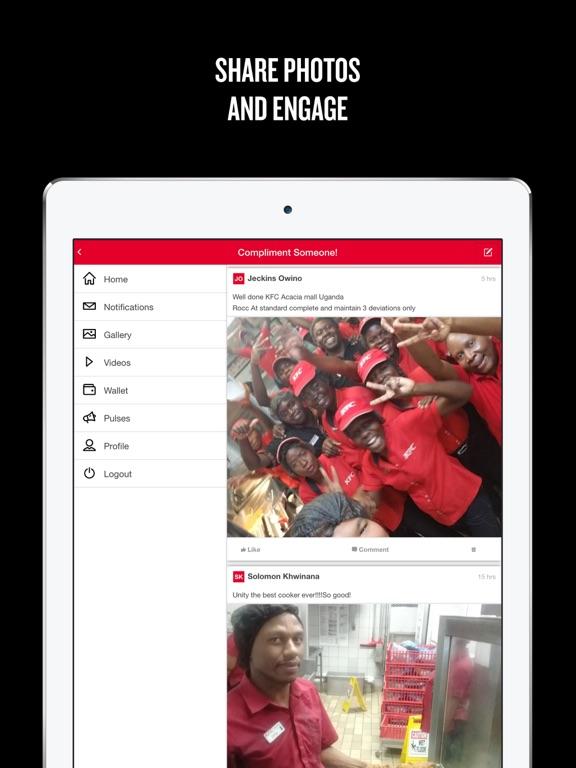 iPad Image of myHUB