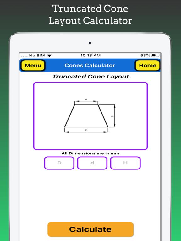 Cones Calculator screenshot 13