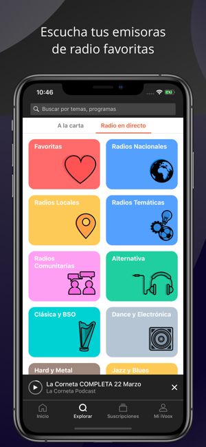 Podcast y Radio - iVoox en App Store