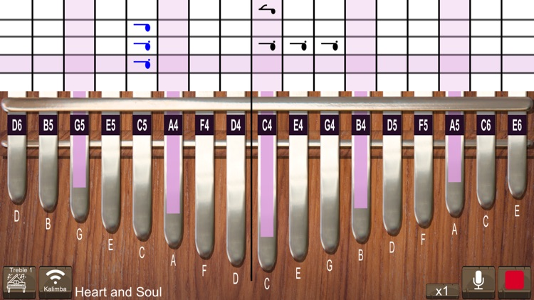 Kalimba Real screenshot-0
