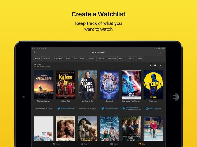 IMDb Movies & TV Shows on the App Store