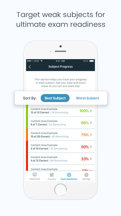 NPTE-PT Pocket Prep Screenshot