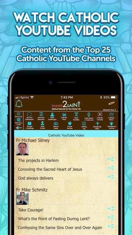 Sinner2Saint Best Catholic App screenshot-4