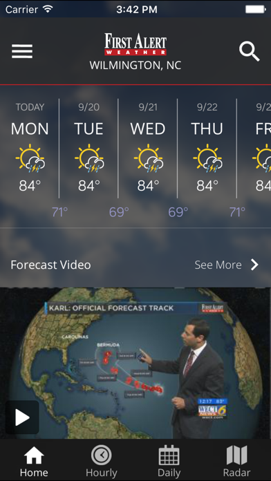 Wect 6 First Alert Weather review screenshots