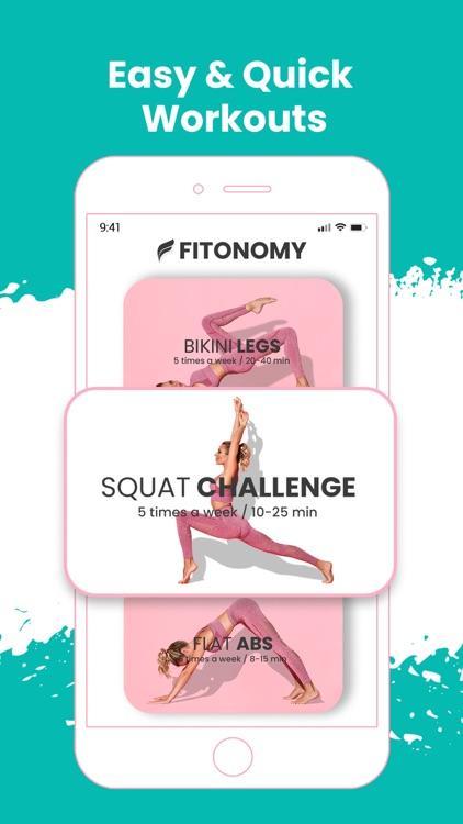 Fitonomy: Women Fitness Plan