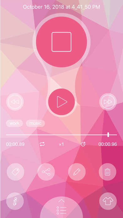 Voice Recorder - Voice Memos screenshot one