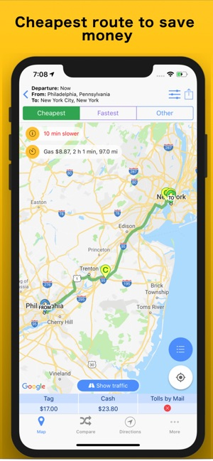Trip Toll Calculator Tollguru on the App Store