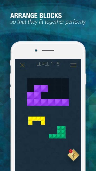 Infinite Block Puzzle screenshot 1