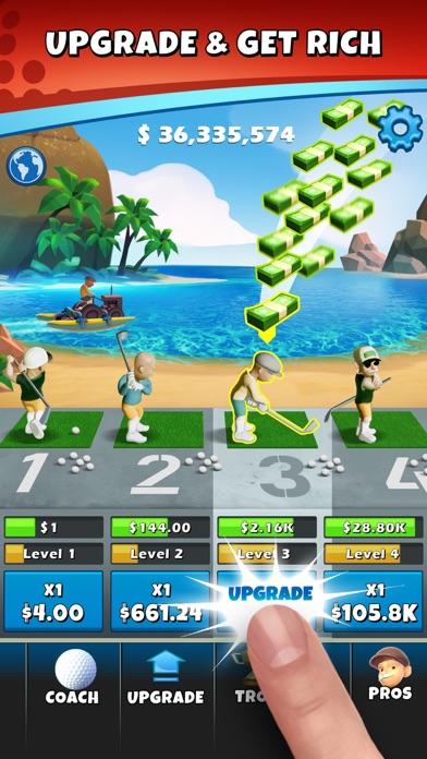 Idle Golf Tycoon screenshot 3