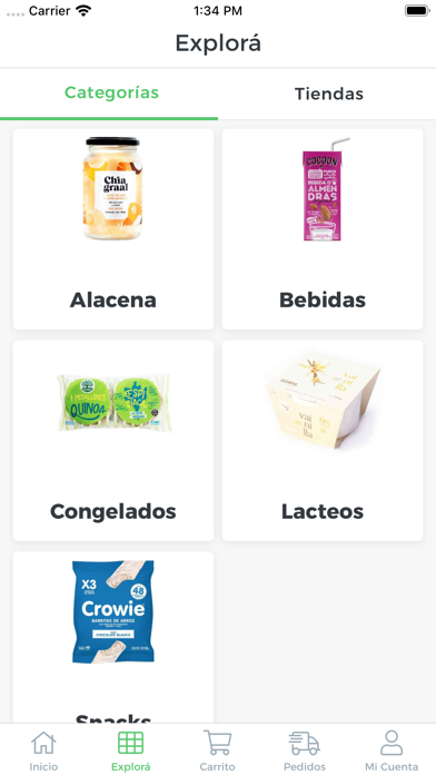Screenshot for Provi - Dieteticas in South Africa App Store