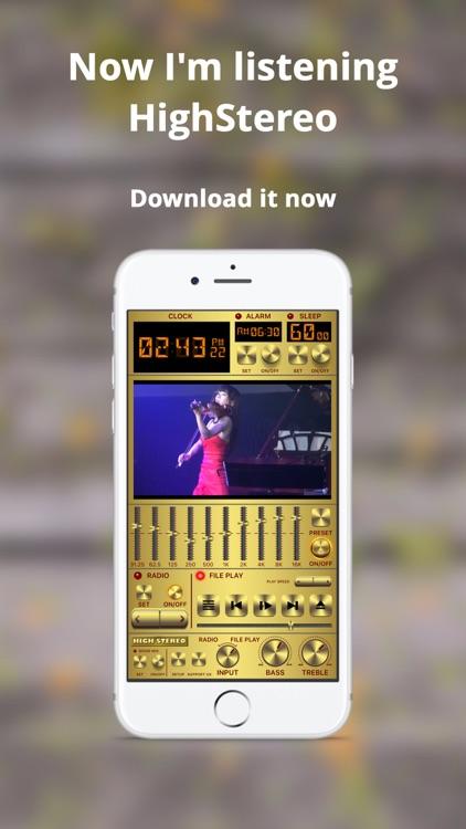 HighStereo : MP3 Music Player screenshot-4
