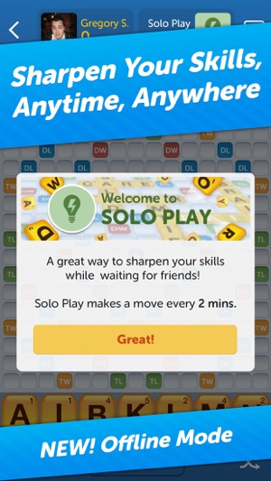 words with friends similar games
