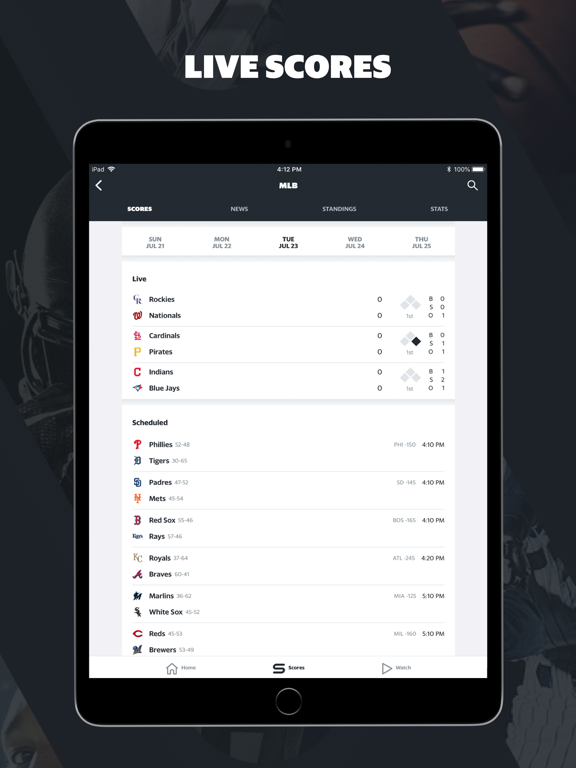 Yahoo Sports - your teams, your scores, your news screenshot